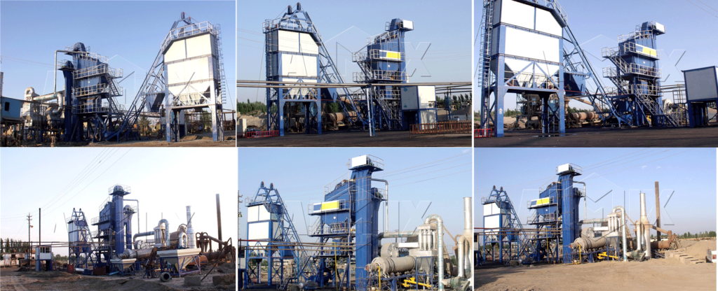 LB1500 asphalt mixing plant sa Indonesia site