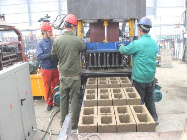 fly ash brick machine test