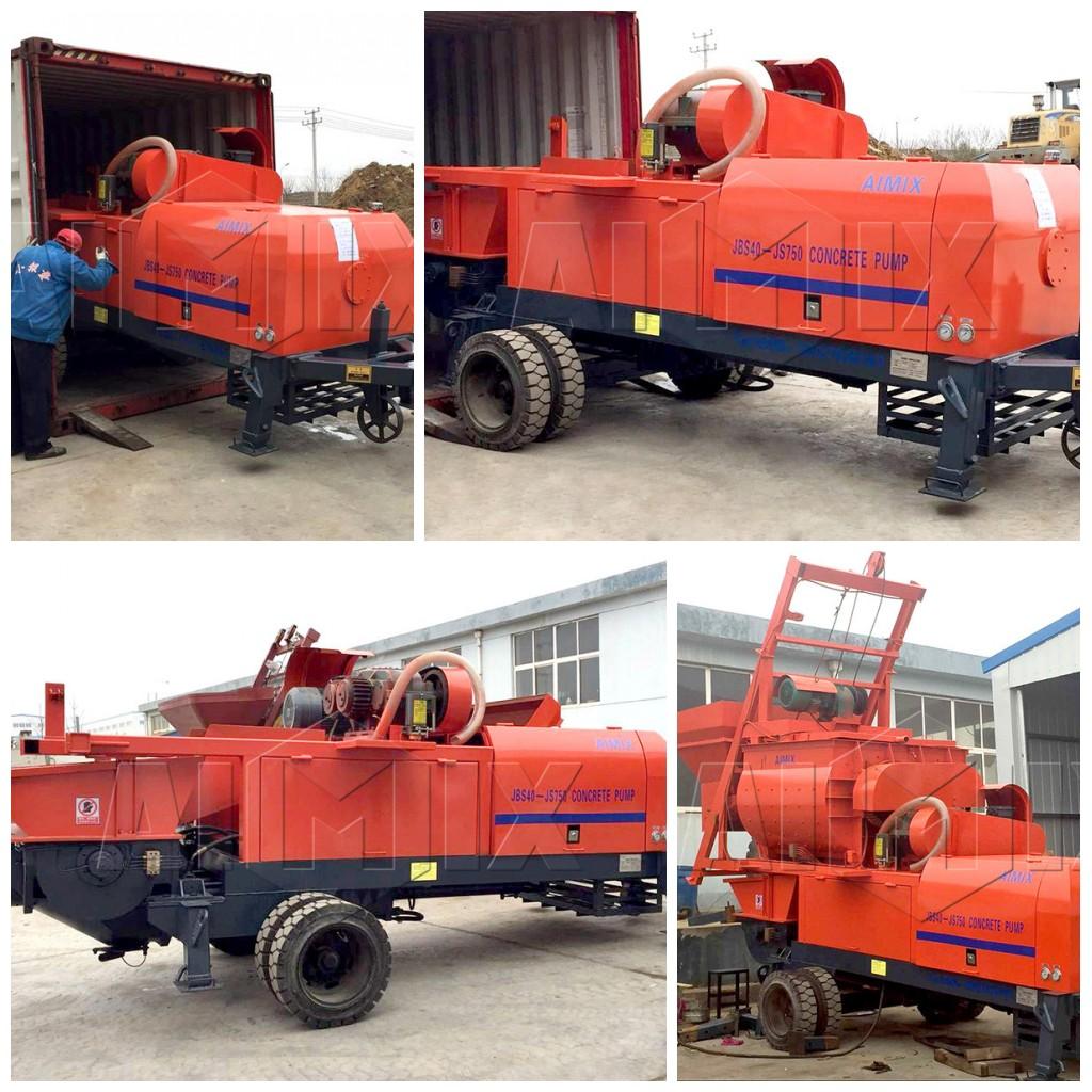 JBS40-JS750 kongkreto na mixer pump sa Uk