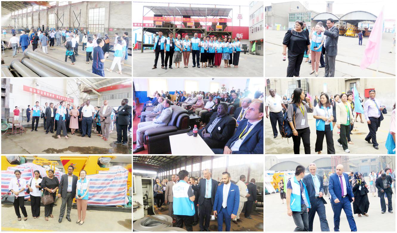 bumibisita ang mga customer ng aimix factory group