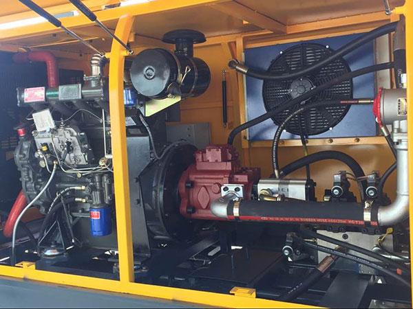 diesel kongkreto pump bahagi