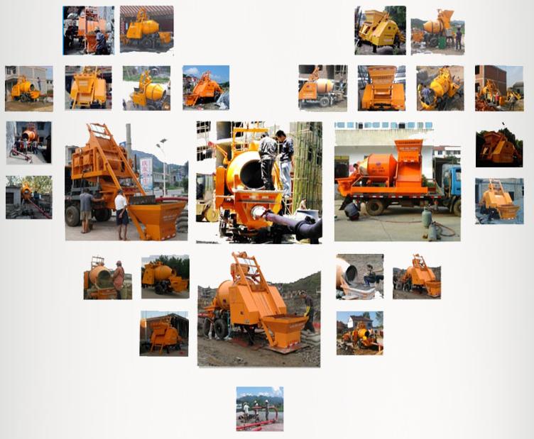 Aimix mixer-pumps working site sa Pilipinas