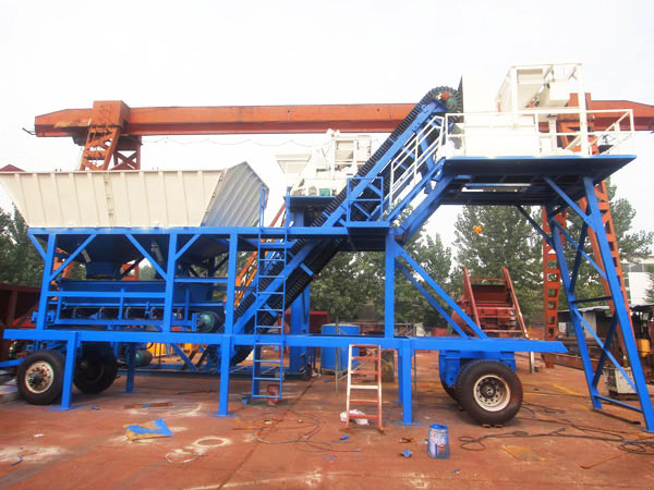 AJY-25 mobile batching plant