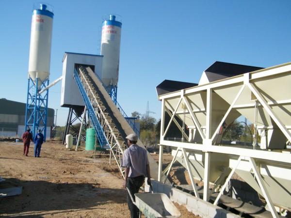 AJ-60 handa mix concrete plant