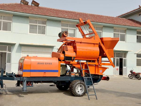 JBS40 machine mixer pump