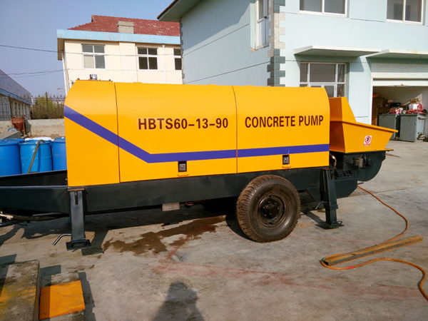 HBT60 electric trailer pump