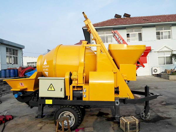 JBS30 concrete mixer with pump for sale