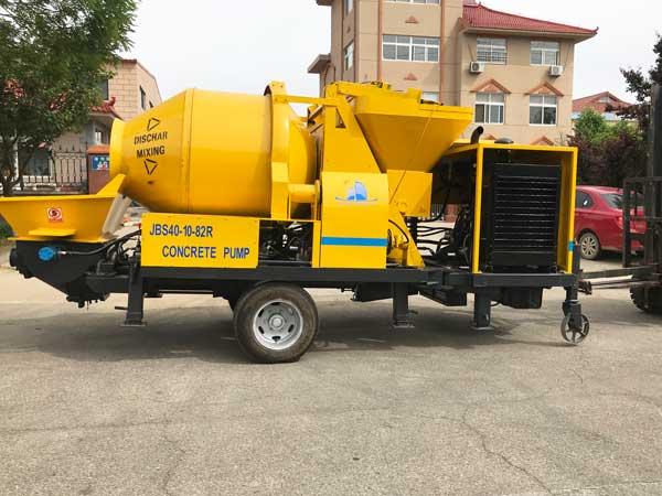 JBS40R diesel kongkreto mixer pump