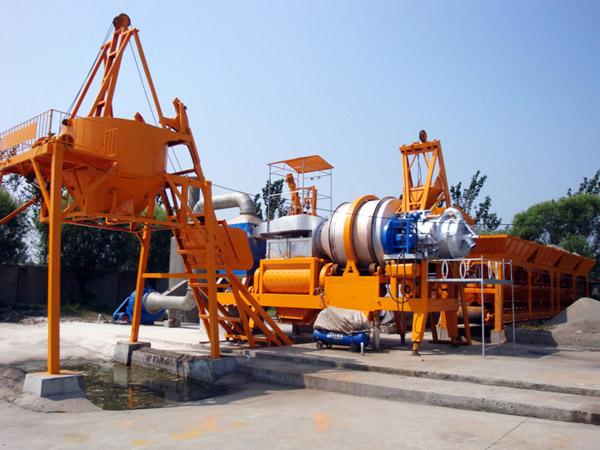 QLB40 drum mobile plant na aspalto