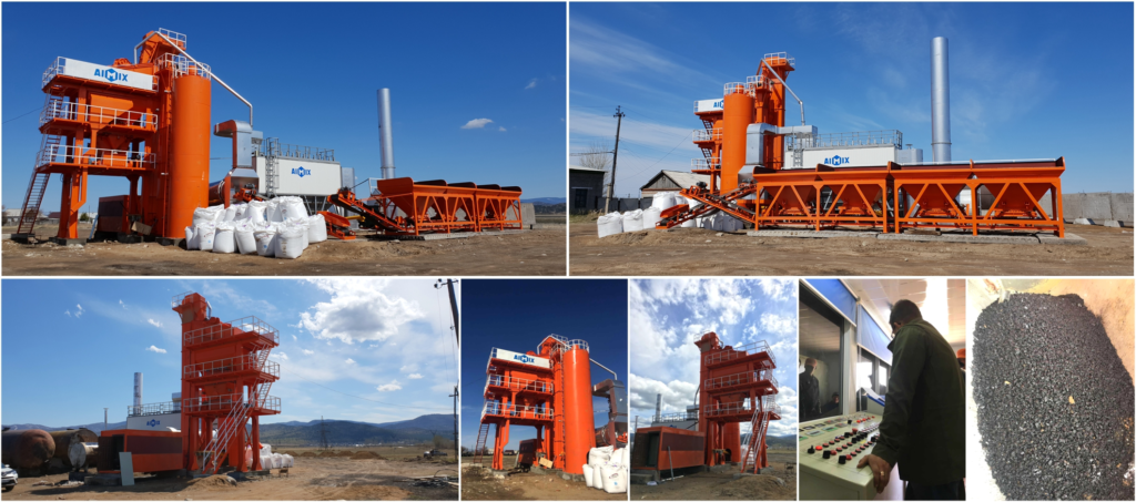 Aimix Asphalt Batching Plant In Philippines