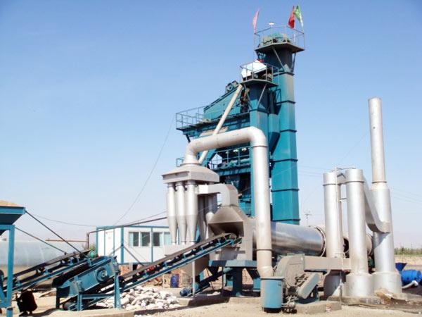 asphalt batch mixing plant machine