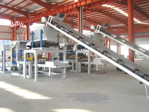 QT4-25 semi brick making machine for sale
