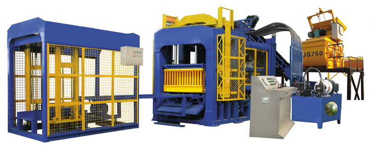 QT8-15 Interlocking Brick Making Machine For Sale