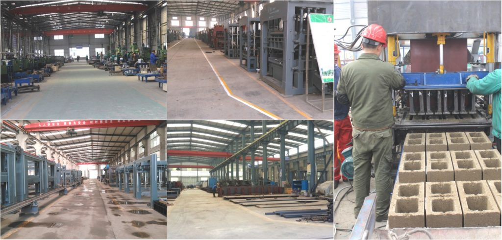Aimix Group brick making machine factory