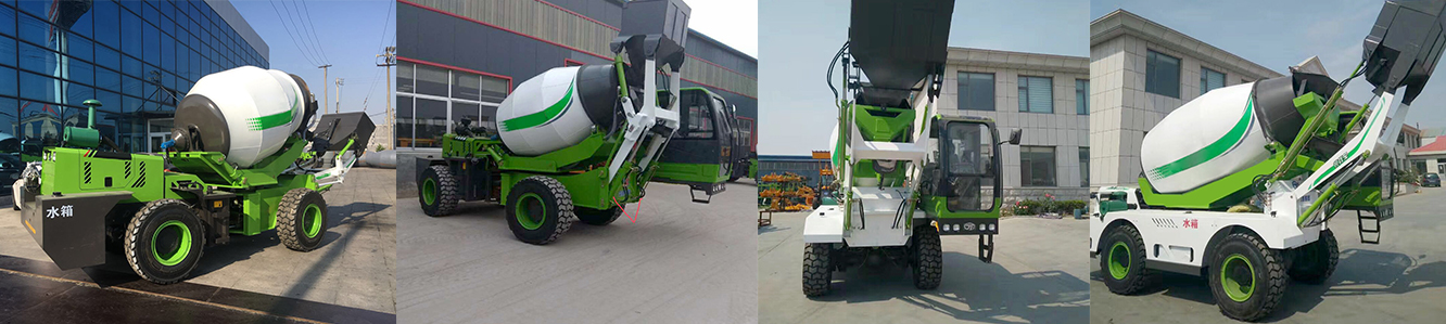 Self Loading Concrete Mixer For Sale - Self Loading, Mixing