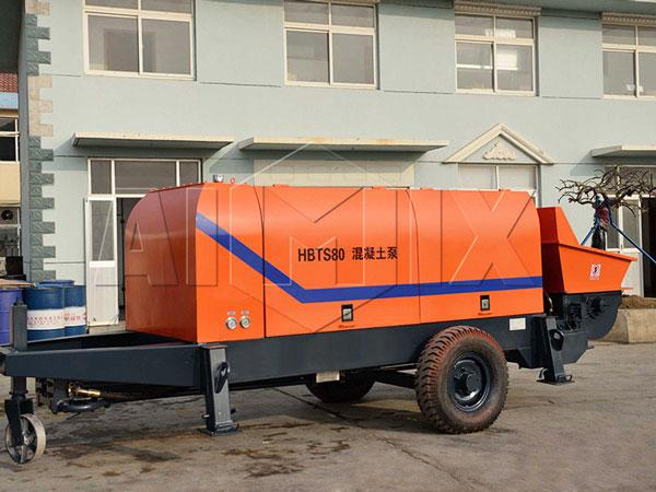 HBTS80 concrete pump for sale