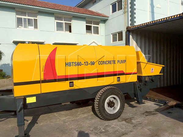 AIMIX-HBTS60-Diesel-Concrete-Pump-was-Delivered-to-Russia
