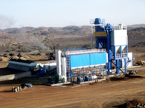 small asphalt mixing plant machine
