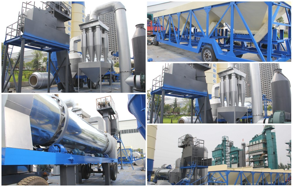 aimix asphalt drum mixing plant factory
