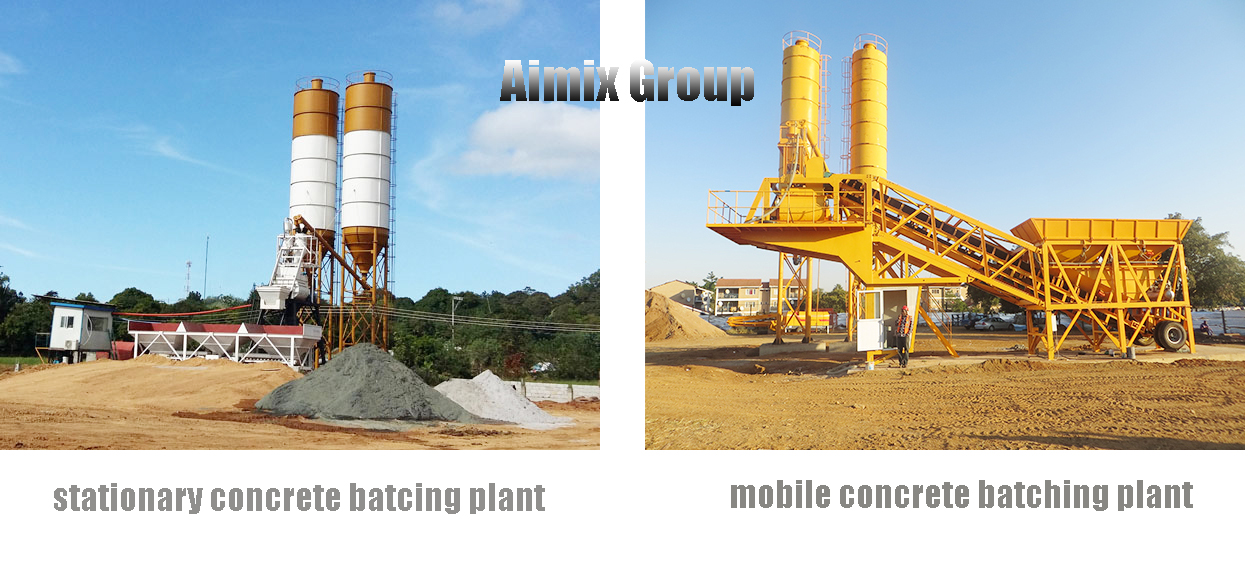 Concrete Batching Plant For Sale - Mobile And Stationary- Mixing Plant