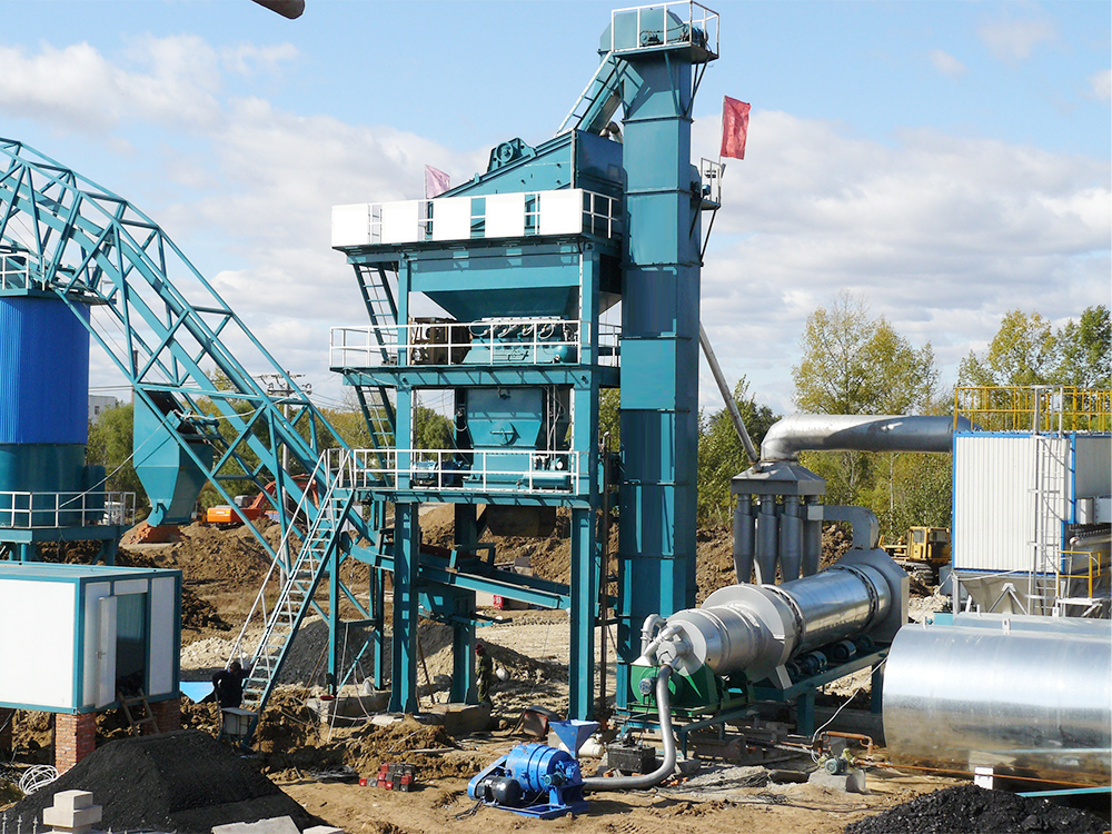 LB 1200 Small Portable Asphalt Plants For Sale