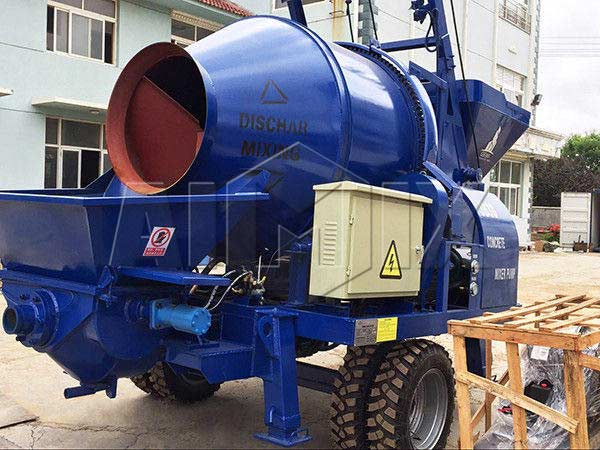 JBS40 electric concrete mixer pump