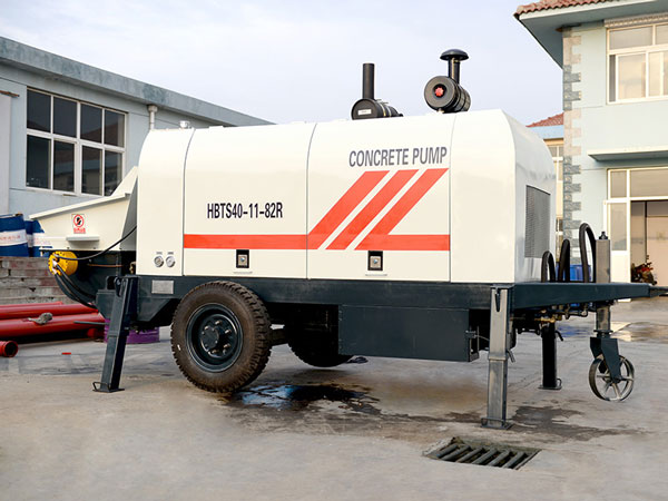 HBT40 mini Concrete Pump For Sale
