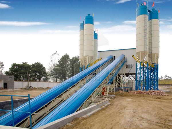 AJ-120 concrete plant