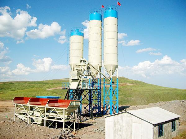 AJ-50 concrete mixing plant