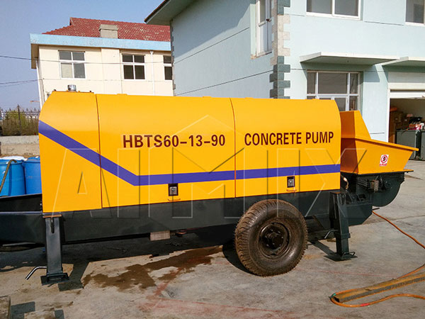 HBTS60 ready mix cement pump