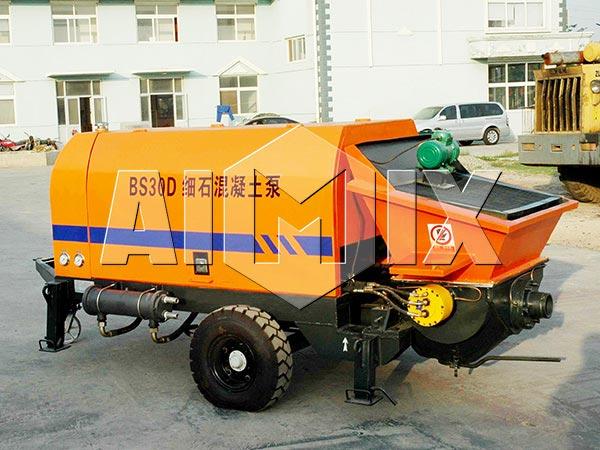 HBT20 mobile concrete pump