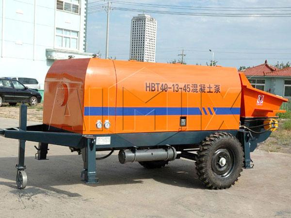 HBT40 mobile concrete pump