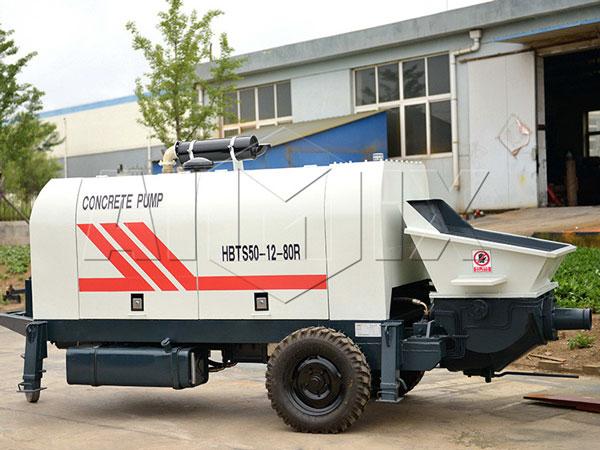 HBTS50 mobile concrete pump