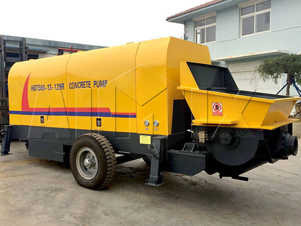 HBTS60 mobile concrete pump
