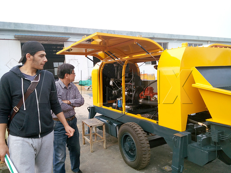 customer visit aimix factory