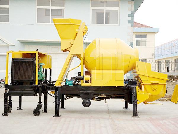 JB30R concrete mixer pump mobiile