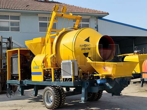 JB40R-JZC350 stationary concrete pump