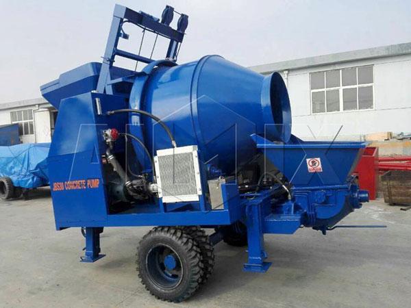 JBS30 mobile concrete mixer pump