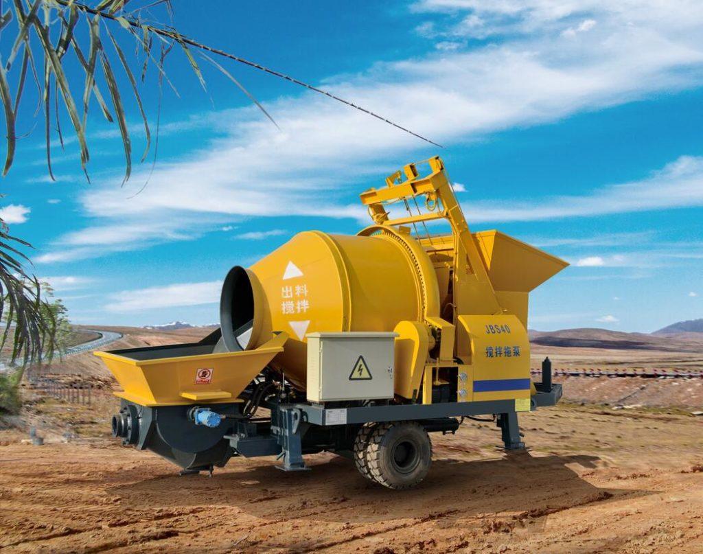 ABJZ40D mobile concrete pump for sale