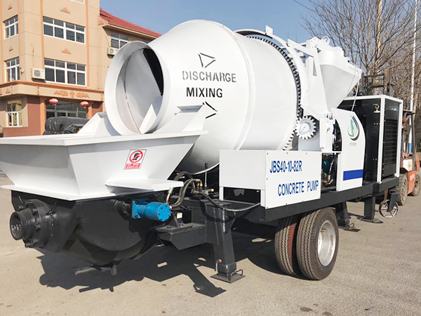 JBS40R ready mix concrete pump