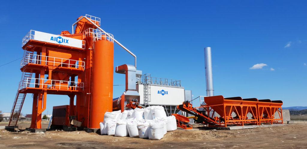 ALQ80 asphalt hot mix plant