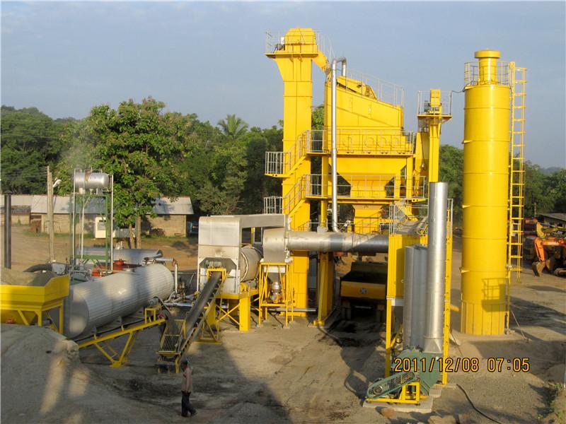 LB800 hot mix asphalt plant for sale