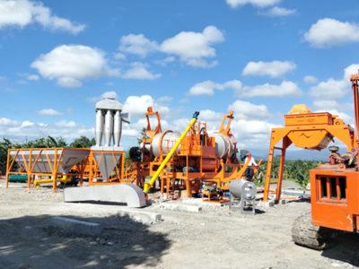 YLB60 mobile asphalt plant