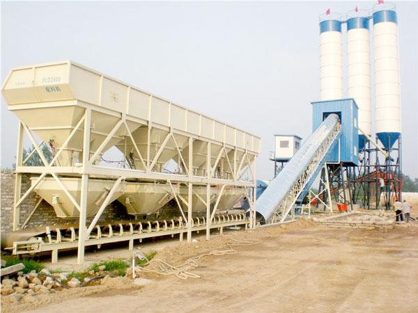 AJ-90 concrete batch plant
