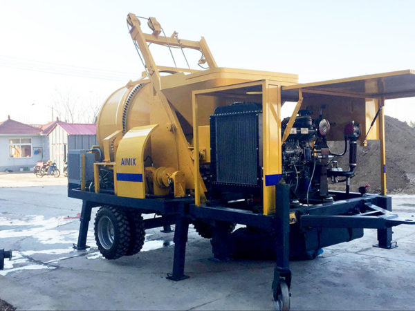 ABJZ40C concrete mixer pump