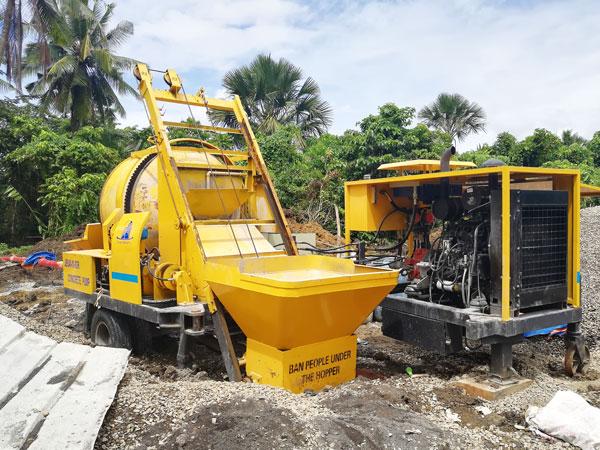 ABJZ40C diesel mixer pump