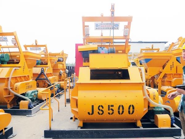 JS500 mixer