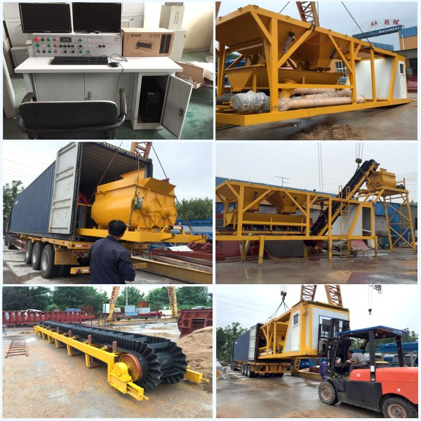 AJY-25 portable concrete batch plant for sale