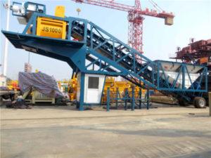 YAJ-60 portable concrete plant