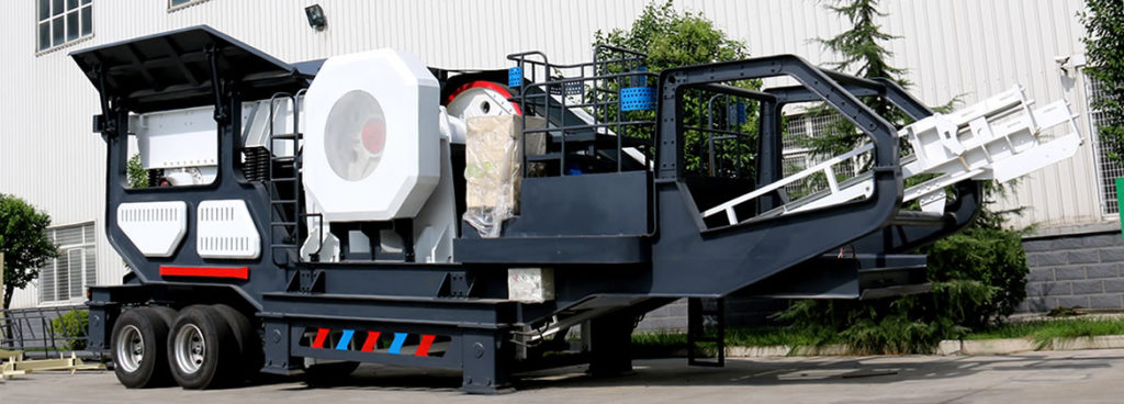 jaw mobile crusher plant